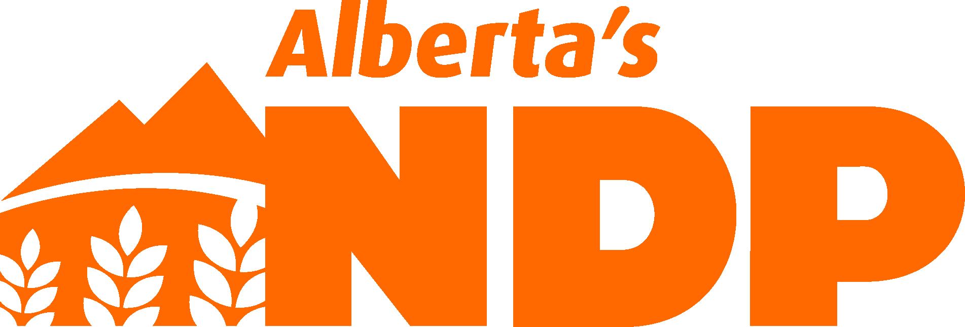 Image result for alberta NDP logo